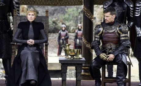 Cersei and Jaime Hold Court
