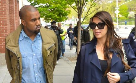 Kim Kardashian and Kanye Photograph