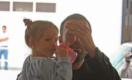 Ben Affleck at Pre-school