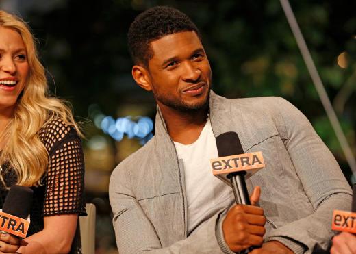 Usher on Extra