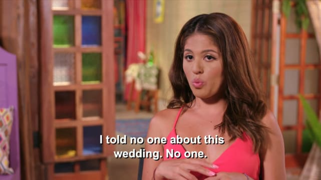 Evelin villegas i told no one about this wedding no one