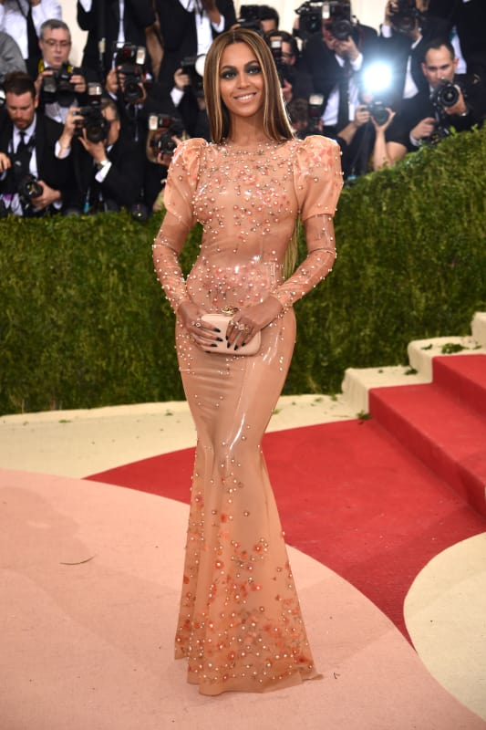 Beyonce 2016 costume institute gala