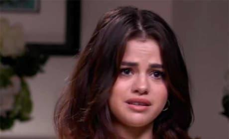 Selena Gomez Gets Emotional