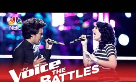 Ellie Lawrence vs. Tim Atlas (The Voice Battle Round)