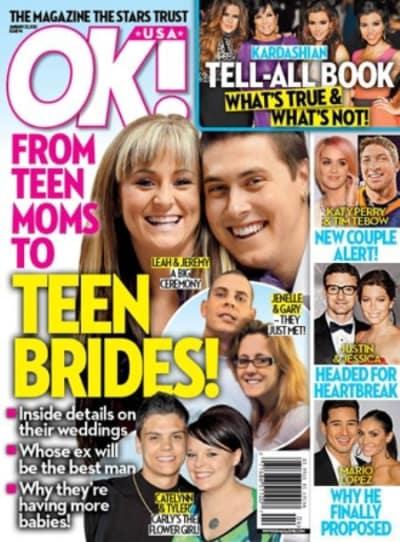 Leah Messer OK! Cover