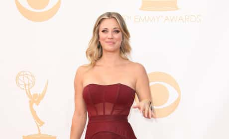 Kaley Cuoco Emmy Dress