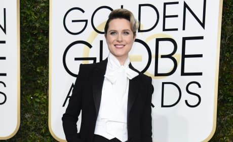 Evan Rachel Wood at the Globes