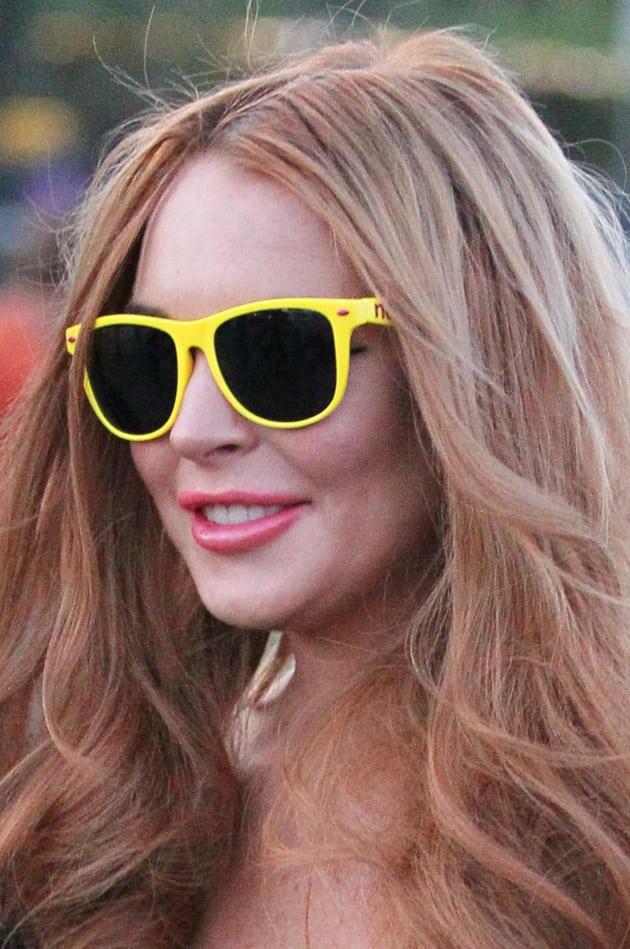Lindsay Lohan Sunglasses