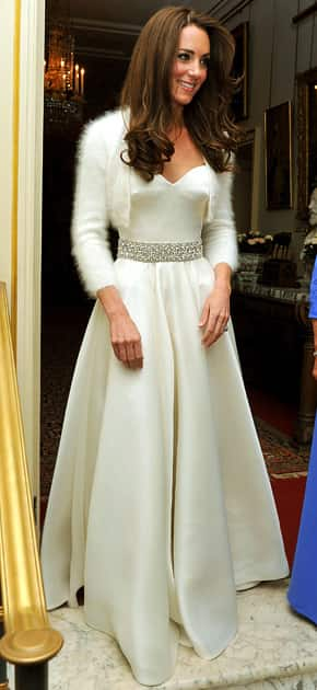 Kate Middleton Evening Gown