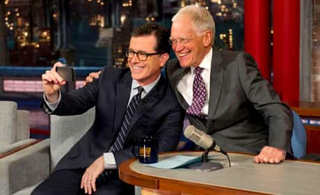 Stephen Colbert on The Late Show
