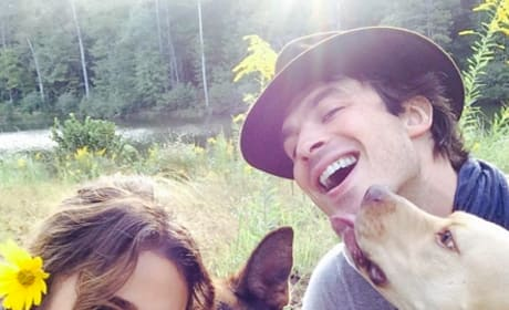 Ian Somerhalder, Nikki Reed, Family