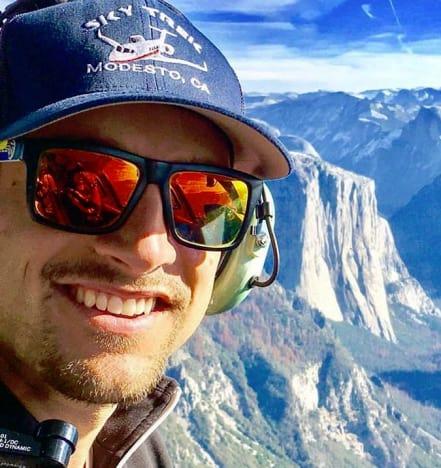 Garrett Yrigoyen in Yosemite