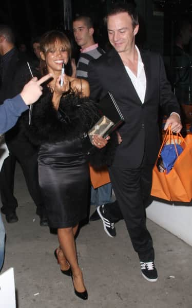 Stacey Dash and Emmanuel Xuereb