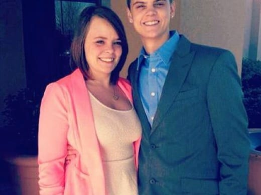 Cate Lowell and Tyler Baltierra
