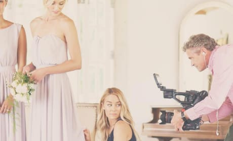 Lauren Conrad filming something