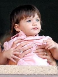 Suri Cruise: NOT Baby Gap Model