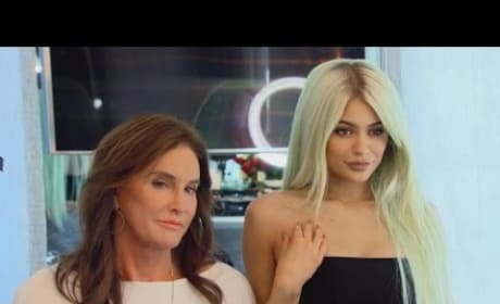 """Kylie Jenner Shows Caitlyn Jenner """"The Look"""""""