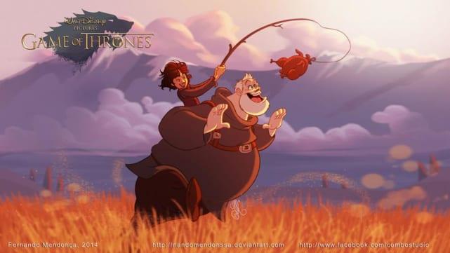 Bran and Hodor