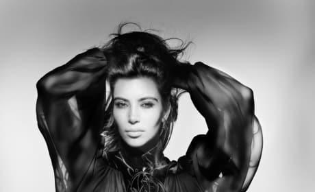 Kim Kardashian V Magazine Photo