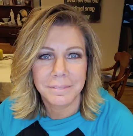 Meri Brown in Blue