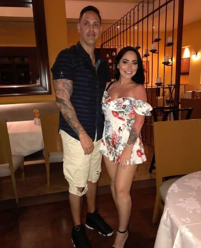 Angelina Pivarnick and Husband Chris