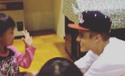 Justin Bieber Visits Japanese Orphanage: See the Video!