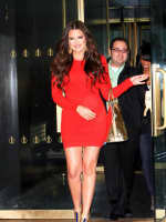 Khloe in Red
