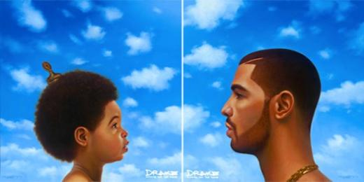 """Drake """"Nothing Was the Same"""" Album Cover"""
