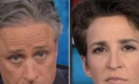 Jon Stewart: Better Than MSNBC at News!