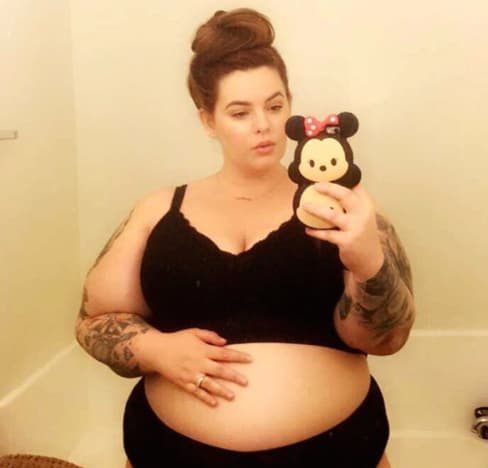 Tess Holliday is Pregnant