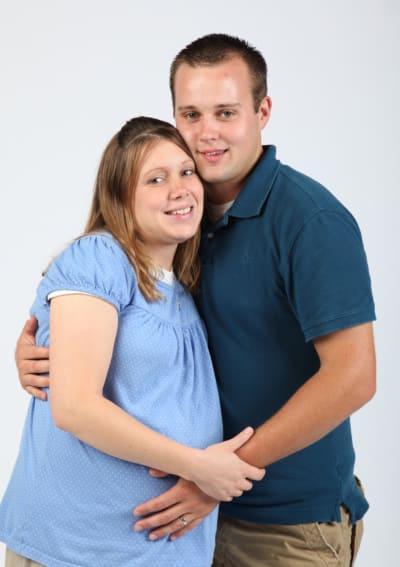 Josh and Pregnant Anna Duggar