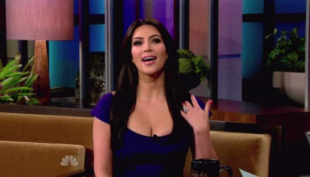 Kim Kardashian Engagement Ring Flash
