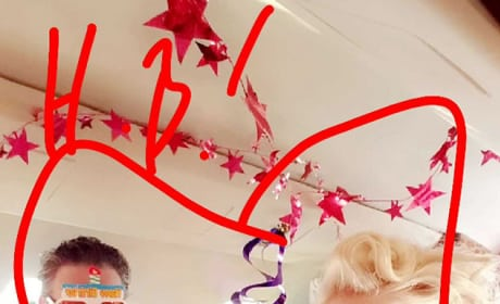 Gwen Stefani and Blake Shelton on His Birthday