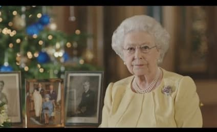 Queen Elizabeth II Reflects on Prince George, Royal Year That Was in Christmas Address