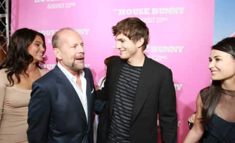 Bruce Willis and Ashton Kutcher