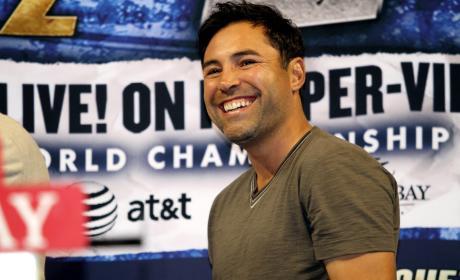 Oscar De La Hoya Photograph
