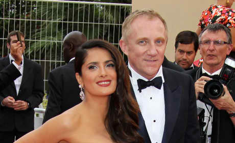 François-Henri Pinault and Wife