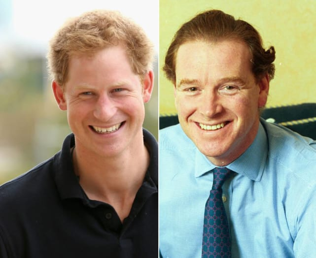 James Hewitt is Prince Harry's Father!