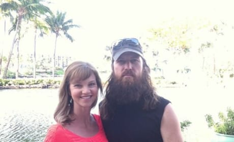 Jase Robertson and Missy Robertson