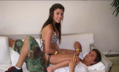 Kourtney Kardashian, Scott Disick: Back Together ... For Now at Least!