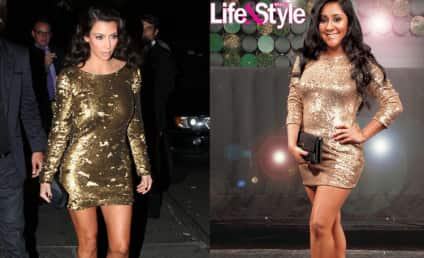 Kim Kardashian Kind of Kalls Out Jersey Shore's Snooki