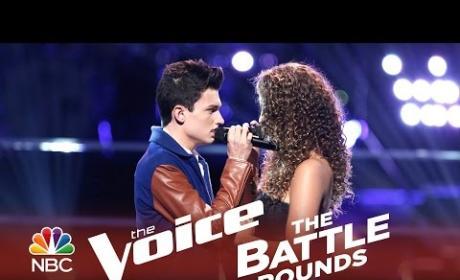 Alessandra Castronovo vs. Joe Kirk (The Voice Battle Round)