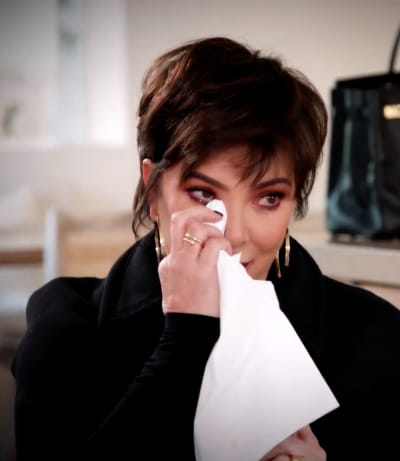 Kris Jenner Breaks So Far Down