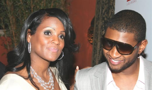 Retro Usher and Tameka Foster