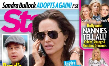 Brad Pitt, Angelina Jolie Star Magazine Cover
