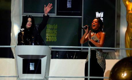 Beyonce and Michael Jackson