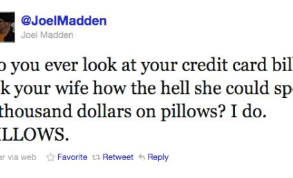 Nicole Richie, Joel Madden Enjoy Pillow Talk on Twitter