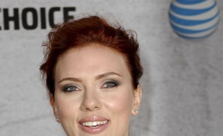Scarlett Johansson Red Carpet Pic