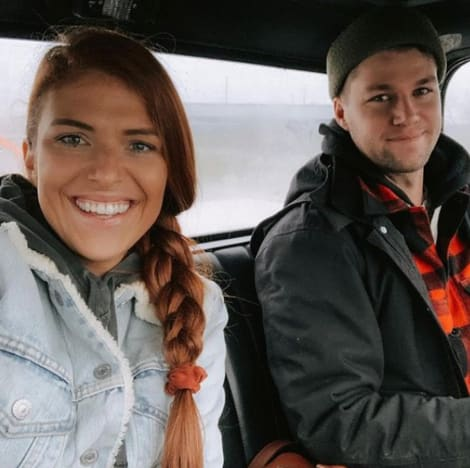 Audrey and Jeremy Roloff in a Car