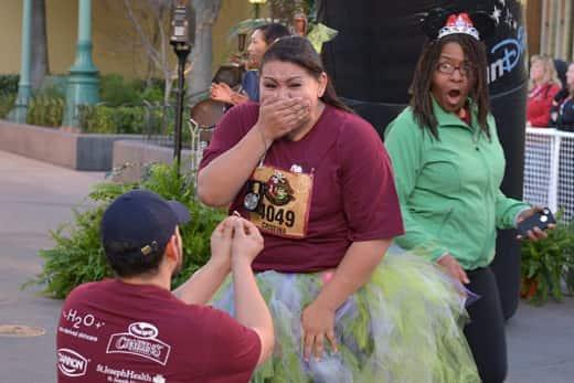 Marriage Proposal Photo Bomb